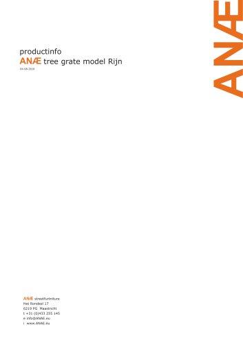 ANÆ tree grate model Rijn