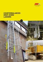 Counterbalanced drop-down ladder - JOMY