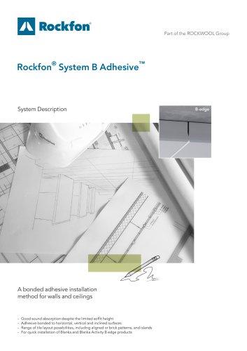 Rockfon® System B Adhesive™