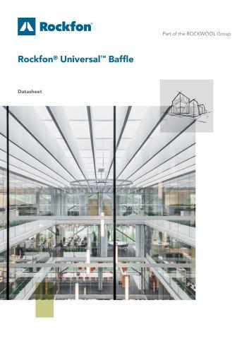 Rockfon® Universal™ Baffle