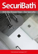 Anti-slip Shower Trays Catalogue - 1