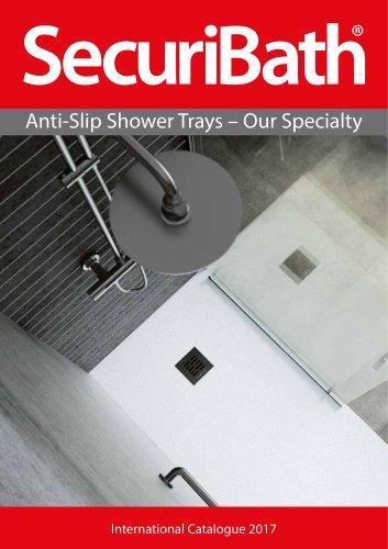 Anti-slip Shower Trays Catalogue