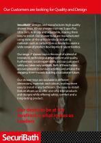 Anti-slip Shower Trays Catalogue - 2