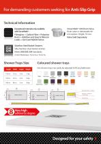 Anti-slip Shower Trays Catalogue - 9
