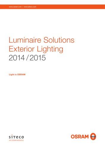 Luminaire Solutions Exterior Lighting 2014 / 2015