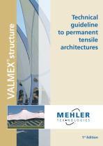 technical guideline to permanent tensile architectures - 1