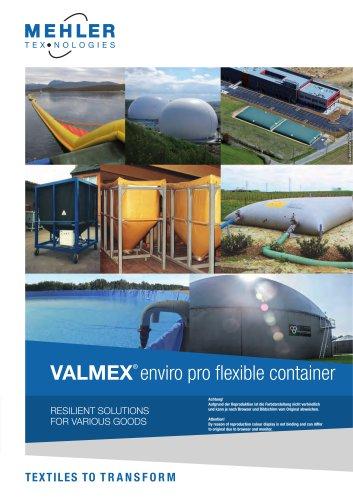 VALMEX® enviro pro flexible container
