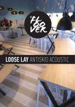 FLOOVER Loose lay antiskid acoustic - 1