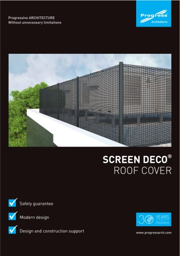 SCREEN DECO roof cover