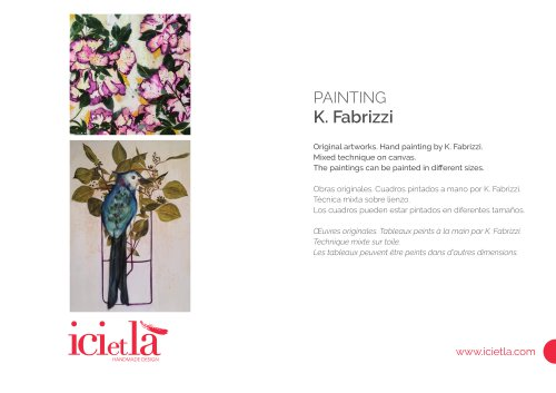 ICI ET LÀ Paintings - K. Fabrizzi