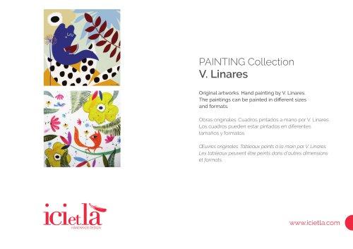 ICI ET LÀ Paintings - V. Linares
