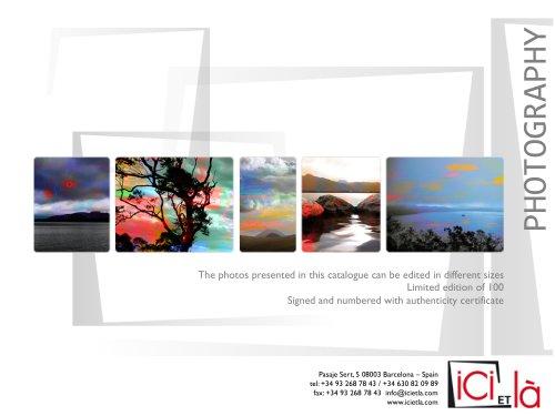 ICI ET LÀ - Photography - Collection KI - 2013