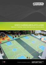 SPORTEC® Sports Flooring And Elastic Layers