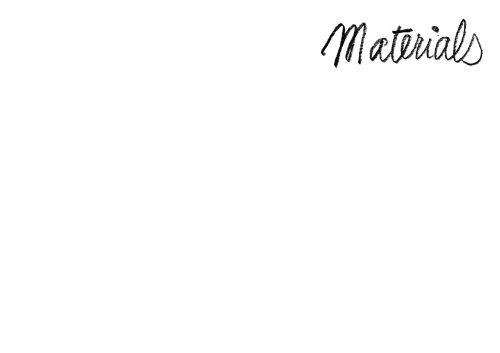 Materials Catalog