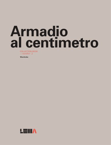 Lema - Armadio al centimetro - collection book number 2