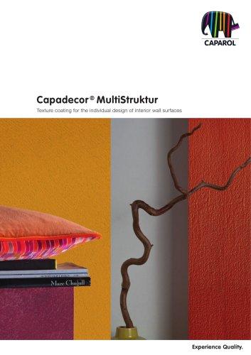 Brochure Capadecor MultiStruktur