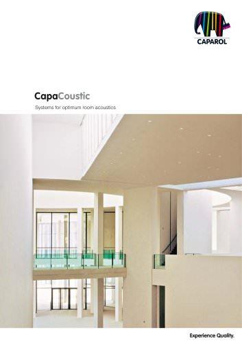 Brochure Caparol Capacoustic