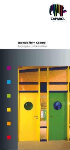 Brochure Enamels from Caparol