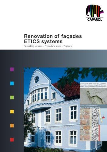 Brochure Renovation of façades ETICS systems