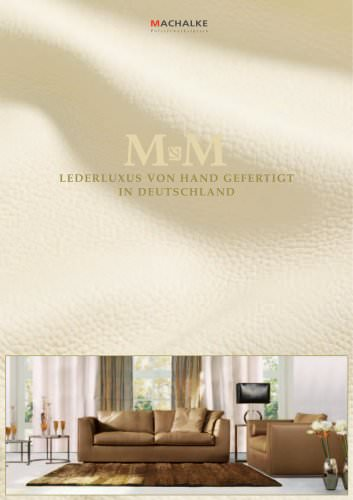 M&M - LUXURY IN LEATHER HANDMADE IN GERMANY