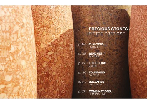 PRECIOUS STONES / FOUNTAINS