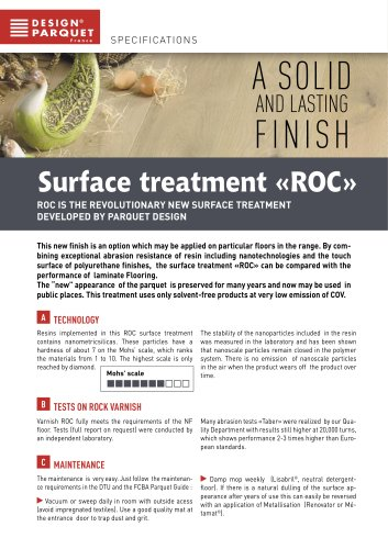 Surface treatment ROC
