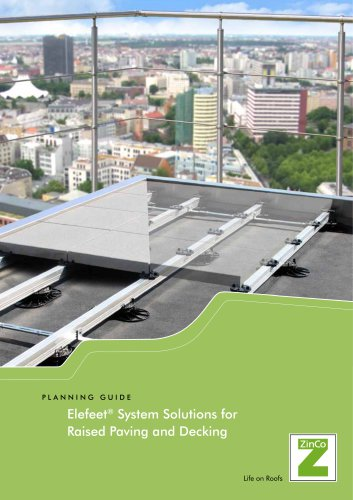 Elefeet® System Solutions for Raised Paving and Decking