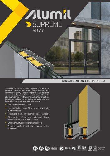 Technical Brochure SUPREME SD77