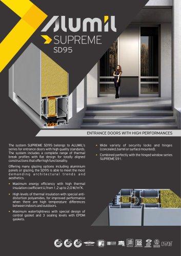 Technical Brochure SUPREME SD95