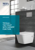 TECEone – THE TOILET WITH SHOWER FUNCTION