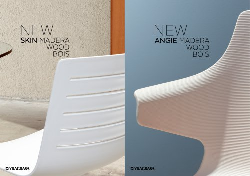 CHAIR ANGIE&SKIN WOOD VILAGRASA