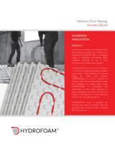 Hydronic Floor Heating Insulation Board