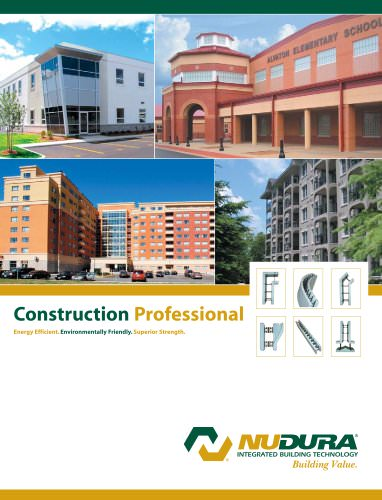 NUDURA   Construction Professional Brochure