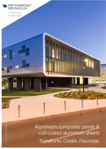 Aluminium composite panels and sheets for architectural