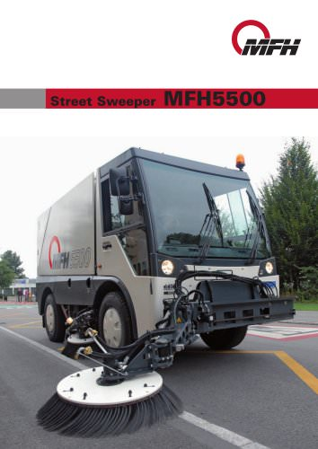 Automotive sweepers:MFH 5500