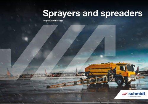 Sprayers and spreaders