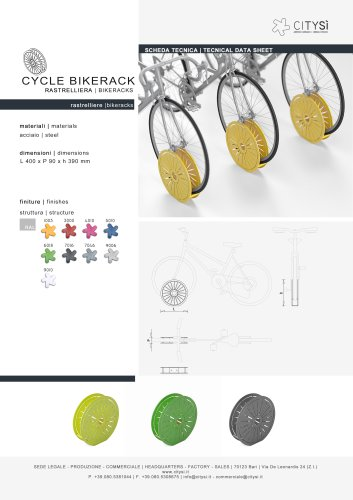 CYCLE BIKERACKS