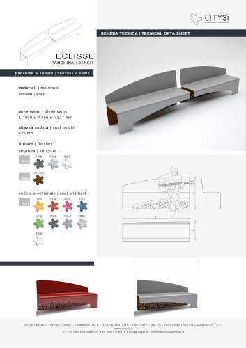 ECLISSE BENCH