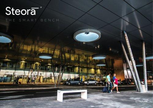 Steora Smart City Bench