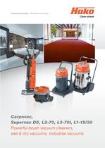 Wet and dry vacuum systems:Hako-Supervac D 5