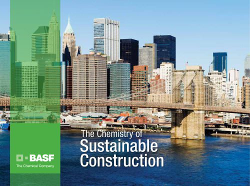 the chemistry of sustainable construction