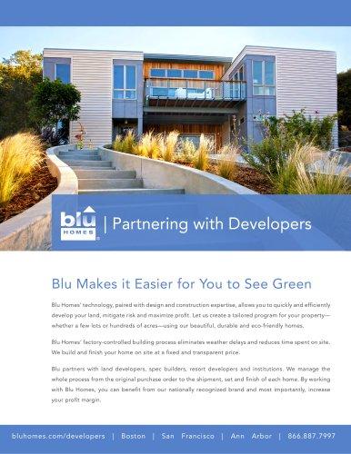Blu Homes Developer Brochure