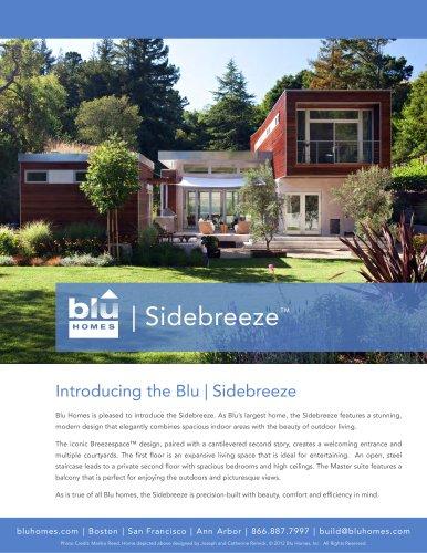 Blu Homes Sidebreeze Brochure