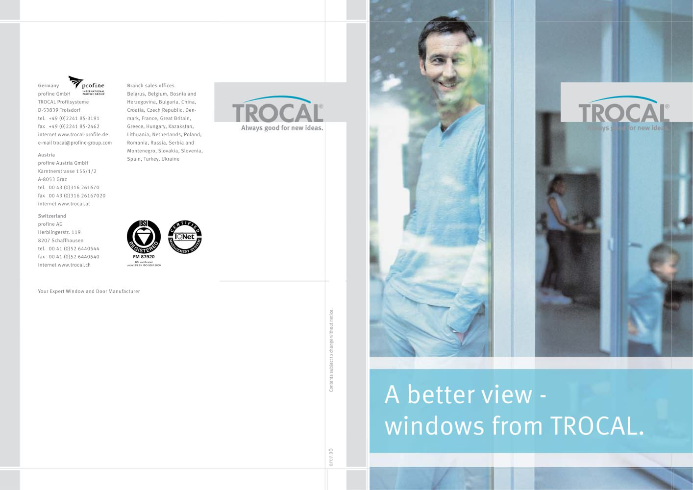 A Better View Windows From Trocal 1 12 Pages