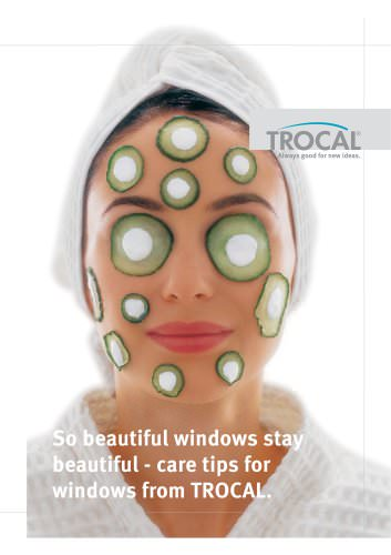 Care tips for windows from TROCAL