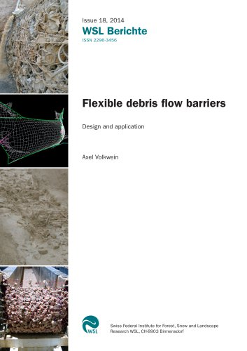 """Survey """"Debris Flow Barriers"""" by the Swiss Federal Institute for Forest, Snow and Landscape Research WSL"""