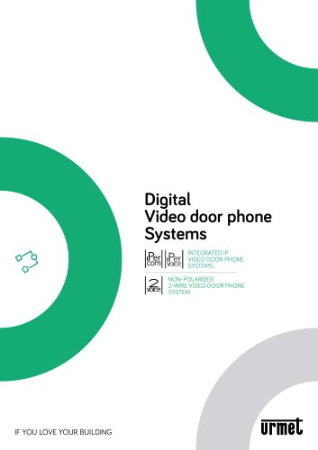 Digital video doorphone systems brochure