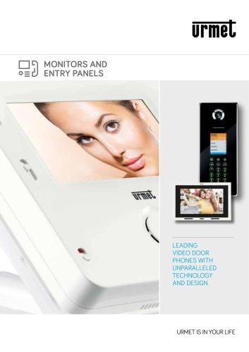 Monitors and entry panels brochure
