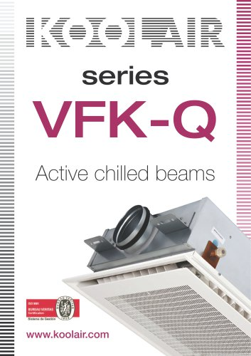 Active chilled beams – Series VFK-Q