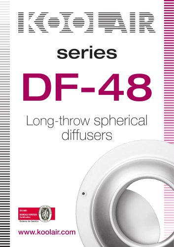 Long-throw spherical diffusers – DF 48